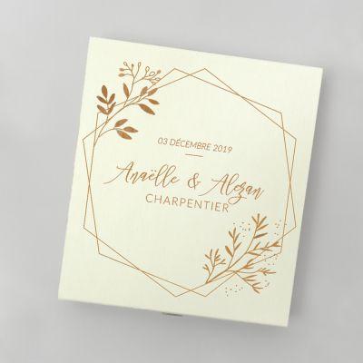 Cadeau anniversaire de mariage - Boîte de Chocolats pour Couples