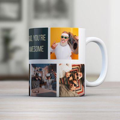 Cadeaux personnalisés - Tasse Photo Personnalisable