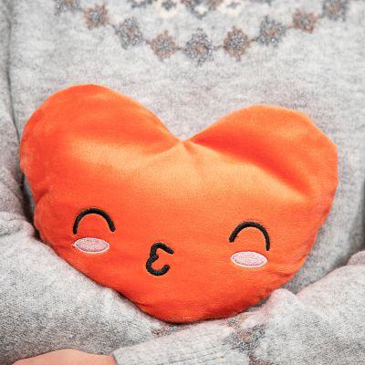 Cadeau Saint Valentin Femme - Coussin Chauffant en forme de Coeur