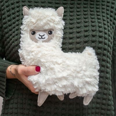 Cadeau de Noël - Peluche Chauffante Lama
