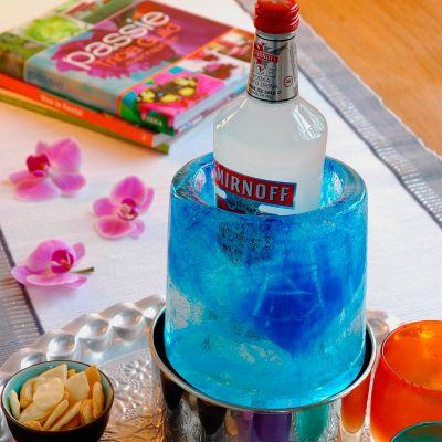 Accessoires de bar - Ice Cooler – Rafraichisseur de bouteilles créatif