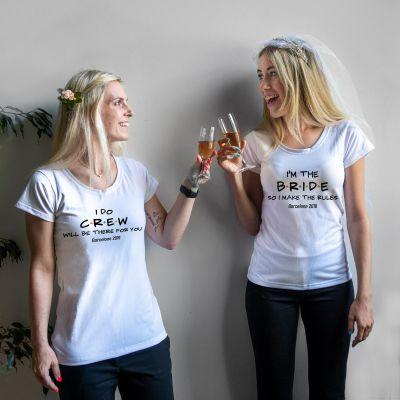 Vêtements & Accessoires - T-Shirt Personnalisable pour le Mariage