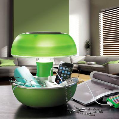Éclairage - Lampe de table JOYO avec ports USB