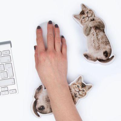 Fun au bureau - Repose poignet anti-stress chien ou chat