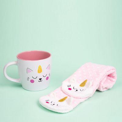 Vêtements & Accessoires - Chaussettes et Tasse Kittycorn
