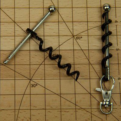 Accessoires de bar - Le plus petit tire-bouchon du monde