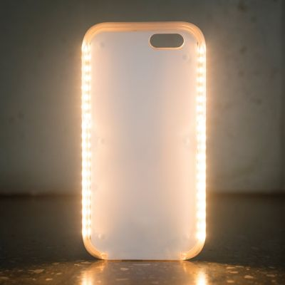 Chargeurs - Coque lumineuse Powerbank iPhone 6/6S/7