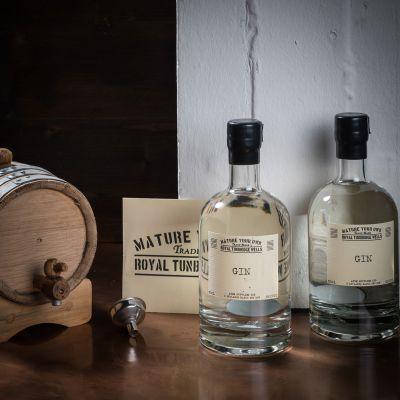 Cadeau 50 ans - Ensemble de maturation Gin – Avec fût en chêne