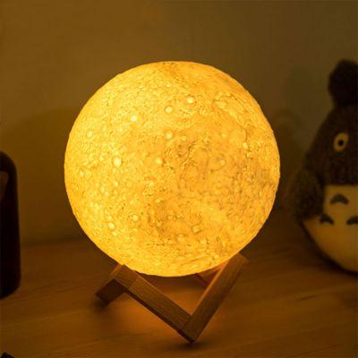 Éclairage - Veilleuse Lune avec changements de couleurs
