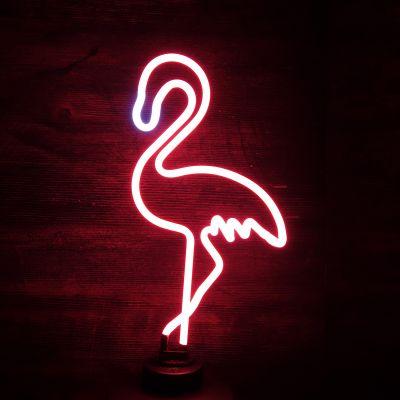 Éclairage - Lampe Néon Flamant