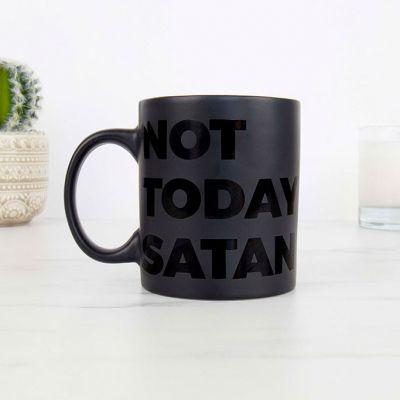 Verres & Mugs - Tasse Not Today Satan
