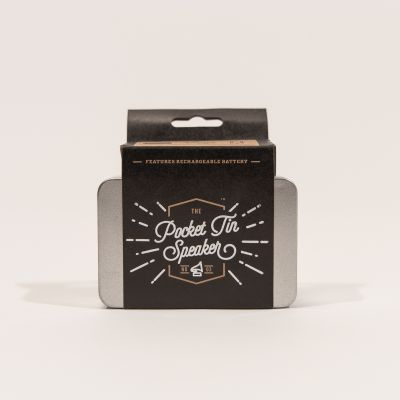 Nouveau - Mini Enceinte The Pocket Tin Speaker