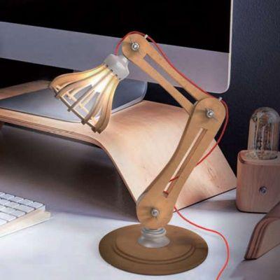 Éclairage - Lampe de Bureau DIY à construire soi-même