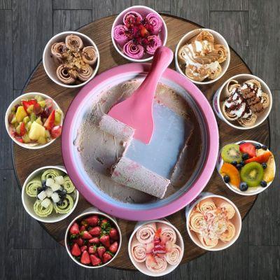Été - Rolling Ice Cream – Machine à glace en rouleaux