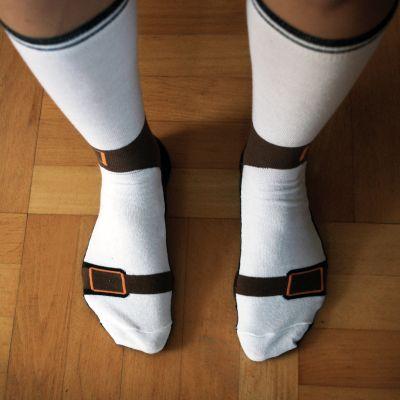 Homewear - Les chaussettes sandales