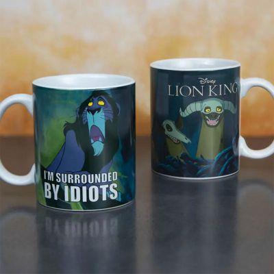 Verres & Mugs - Tasse Le Roi Lion - Scar