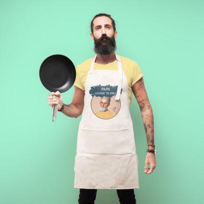 Cuisine & Barbecue - Tablier de cuisine personnalisable avec couleur