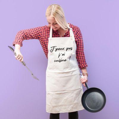 Cadeaux de Noël pour femme - Tablier de Cuisine Personnalisé