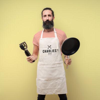 Cadeau anniversaire Homme - Tablier de Cuisine Personnalisable Master Chef