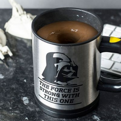 L'univers Star Wars - Tasse Star Wars auto-mélangeuse