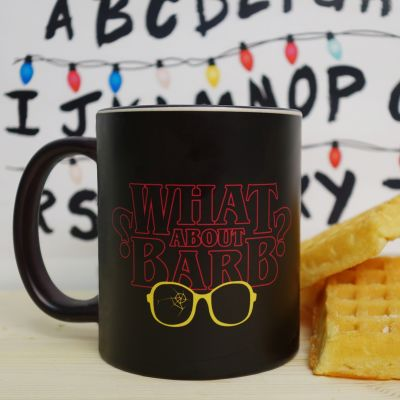 Cadeau d'Halloween - Tasse Thermosensible What About Barb