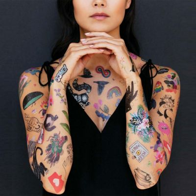 Vêtements & Accessoires - Tatouages Temporaires dans différents motifs