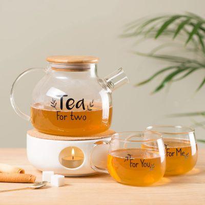 Verres & Mugs - Ensemble à thé pour deux