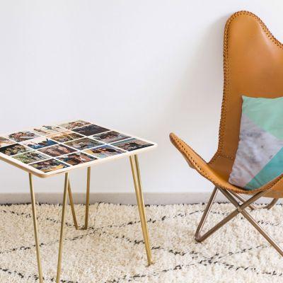 Décoration & Mobilier - Table en bois Personnalisable avec 16 images