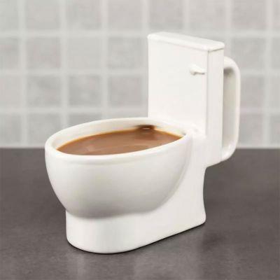 Cadeaux rigolos - Tasse Toilettes