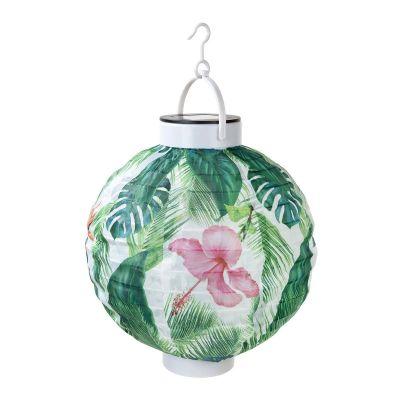 Éclairage - Lanterne Solaire Tropicale pour Extérieur