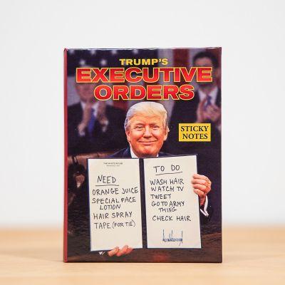 Cadeaux rigolos - Bloc-notes Ordres du Président