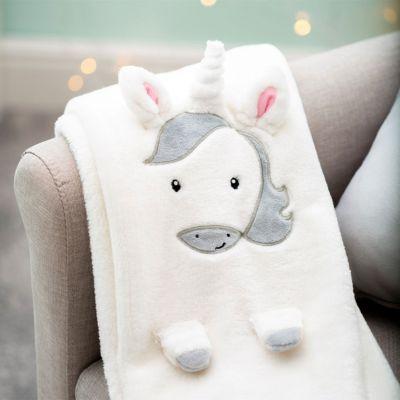 Cadeau bébé - Couverture Bébé Licorne