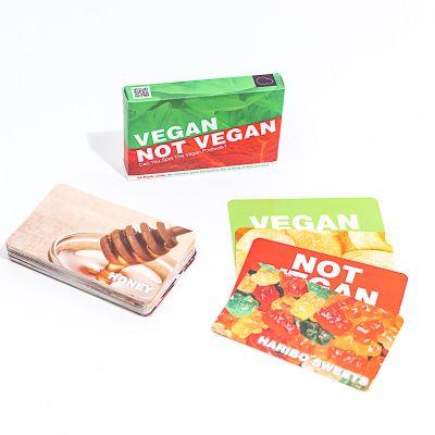 Jeu de Cartes Vegan Not Vegan