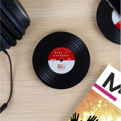 Chargeurs - Chargeur à induction design vinyle