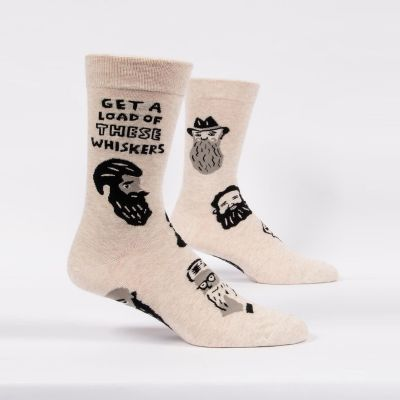 Vêtements & Accessoires - Chaussettes - Get A Load Of These Whiskers