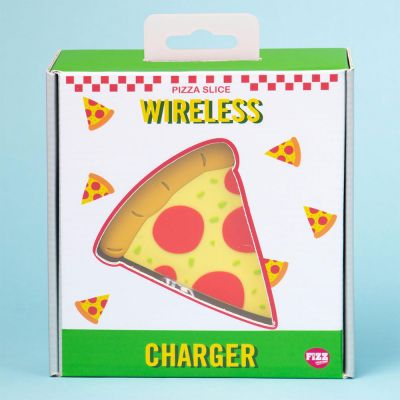 Nouveau - Chargeur sans fil Pizza