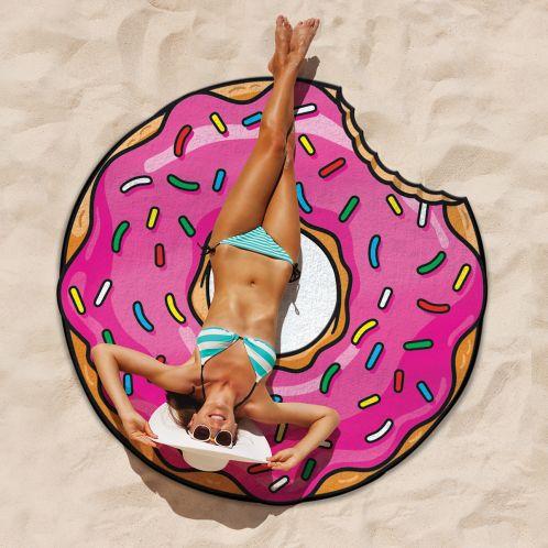 Idée cadeau - Serviette de plage Donut