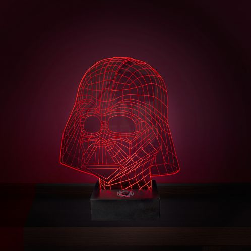 Cadeau anniversaire - Lampe Star Wars LED - Effet 3D