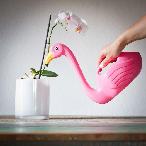 Idée cadeau - Arrosoir Flamant Rose