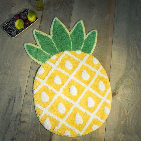 Idée cadeau - Tapis de bain Ananas