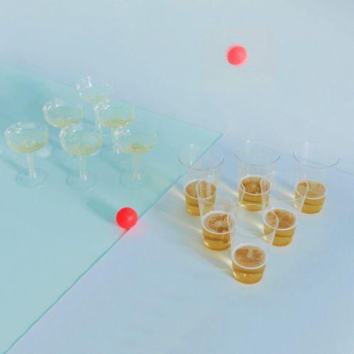Cadeau anniversaire - Prosecco Pong VS Beer Pong