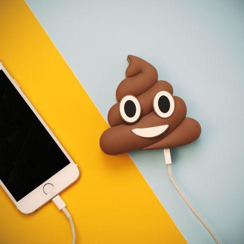 Idée cadeau - Chargeur pour Smartphone - Crotte