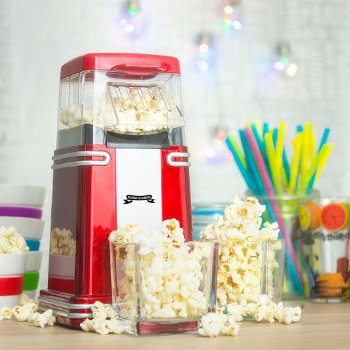 Idée cadeau - Mini Machine à Pop-Corn Rétro