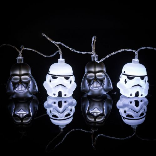Cadeau anniversaire - Guirlande Lumineuse Star Wars Dark Vador & Stormtrooper