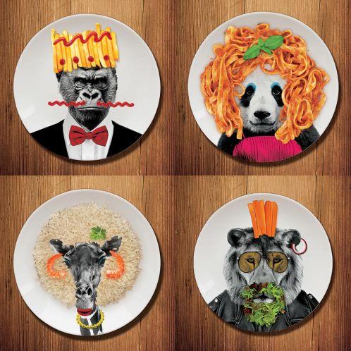 Idée cadeau - Wild Dining – les assiettes sauvages