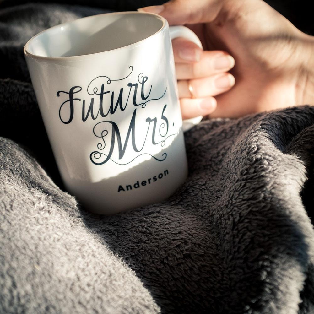 Tasse personnalisable Future Mrs.