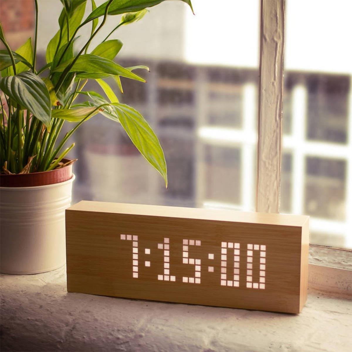 Réveils à messages Click Message Clocks