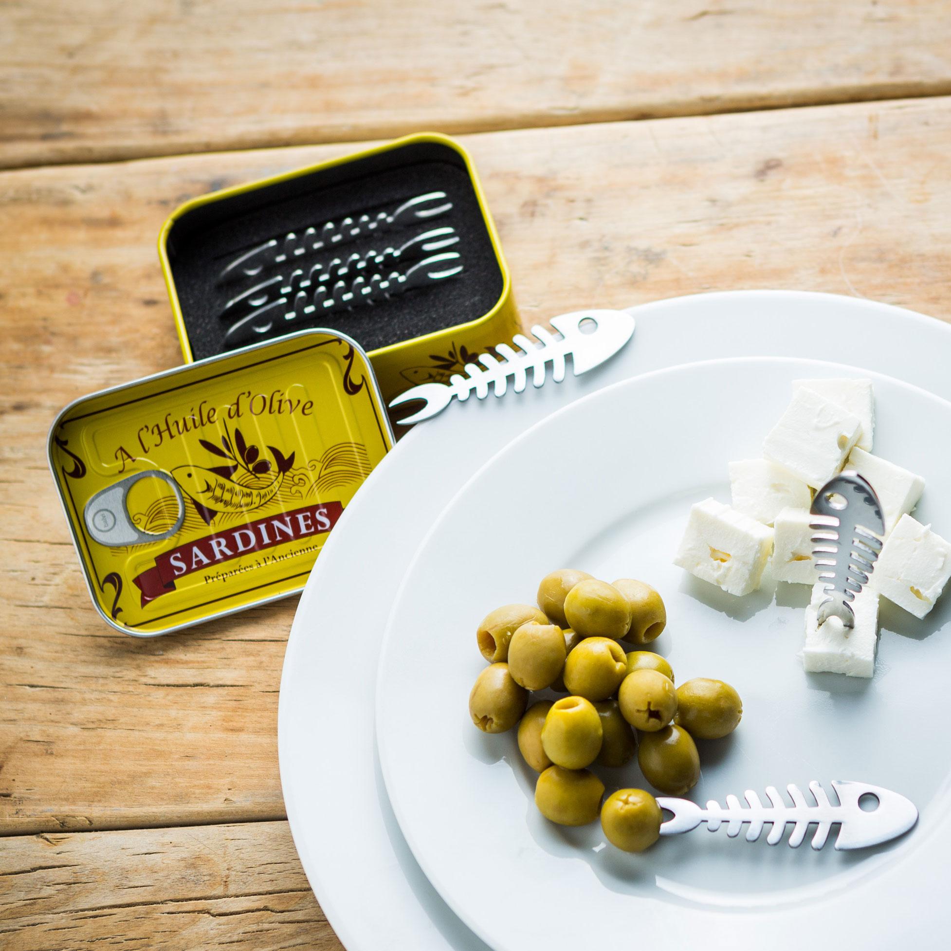 Set de 6 piques apéritif Sardines