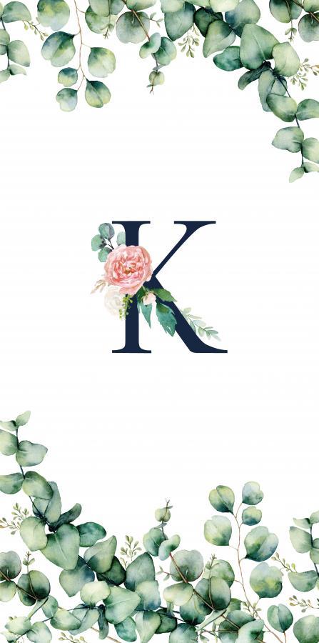 Handtuch mit Monogramm und Text (TOMOXT) - K